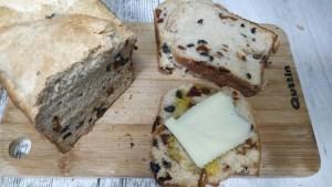 pan sin gluten mediterraneo en panificadora del lidl con harina de mercadona hacendado