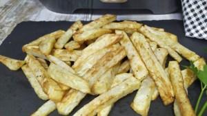 Como hacer patatas fritas crujientes con freidora de aire proscenic t21 recetas freidoras sin aceite