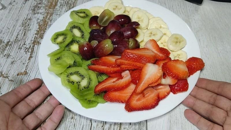 tarta de frutas con hojaldre y crema pastelera. Proscenic T21. Tarta con freidora de aire