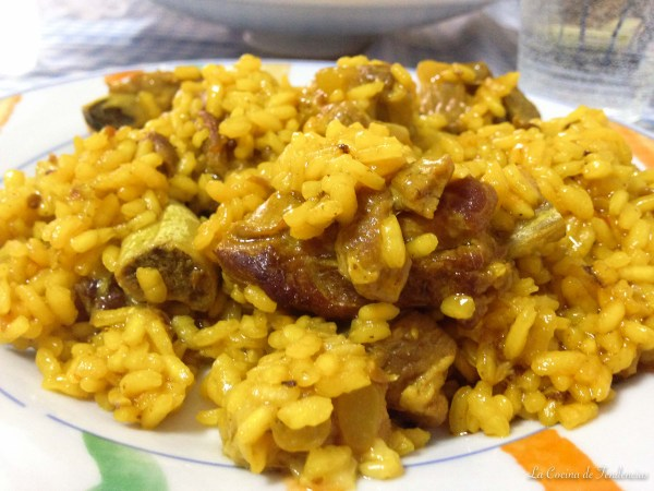 arroz y costillejas