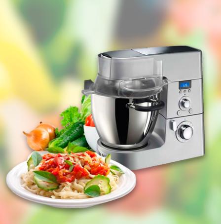Sorteo de Robot de Cocina y cafetera Nespresso