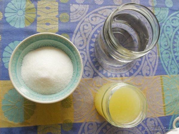 Receta del limón granizado casero