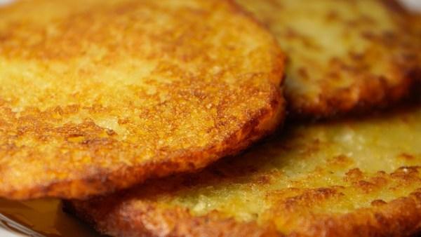Tortitas de patatas muy rápidas