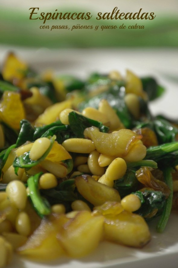 La cocina de Vero - Espinacas salteadas