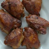 Pollo a la barbacoa. Receta cubana