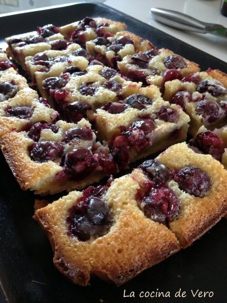 cherry bars - barritas de cerezas