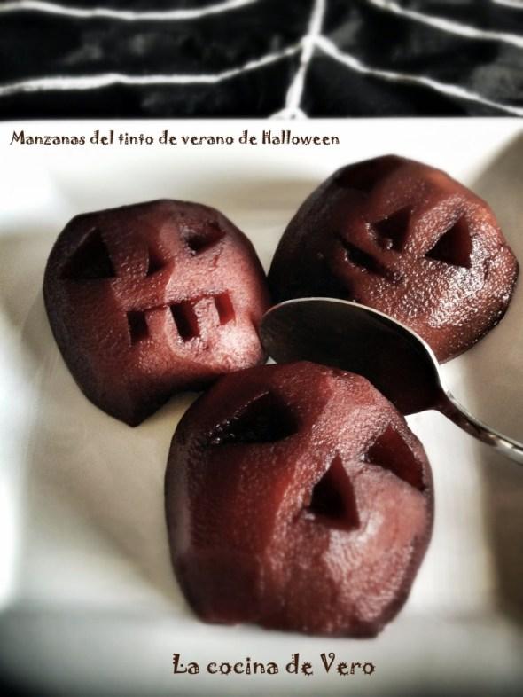manzanas borrachas - lacocinadevero