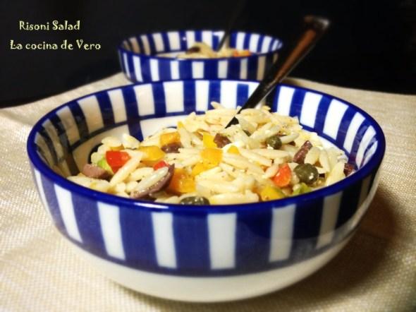 Risoni Salad - La cocina de Vero