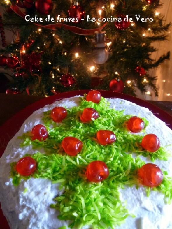Cake de Frutas - La cocina de Vero