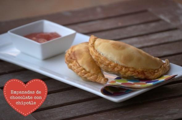 Empanadas de chocolate con chipotle - La cocina de Vero