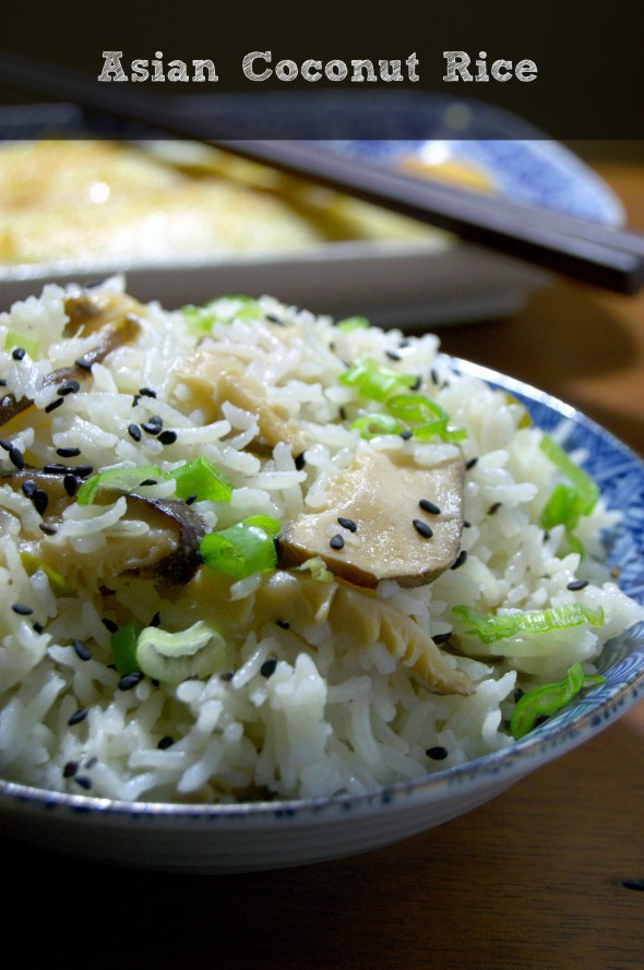 Asian Coconut Rice - La cocina de Vero