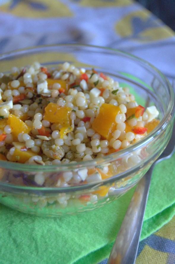 ensalada de mango y cuscus