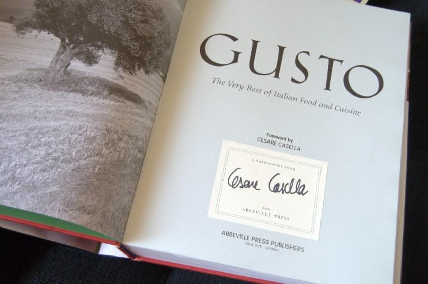 Gusto, de Cesare Casella, firmado