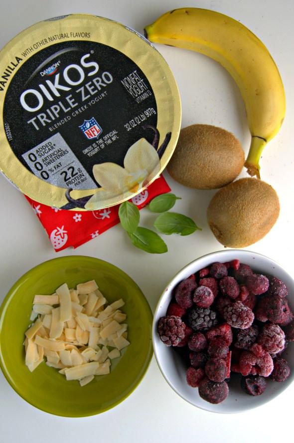 Smoothie bowl divertido y nutritivo con Oikos