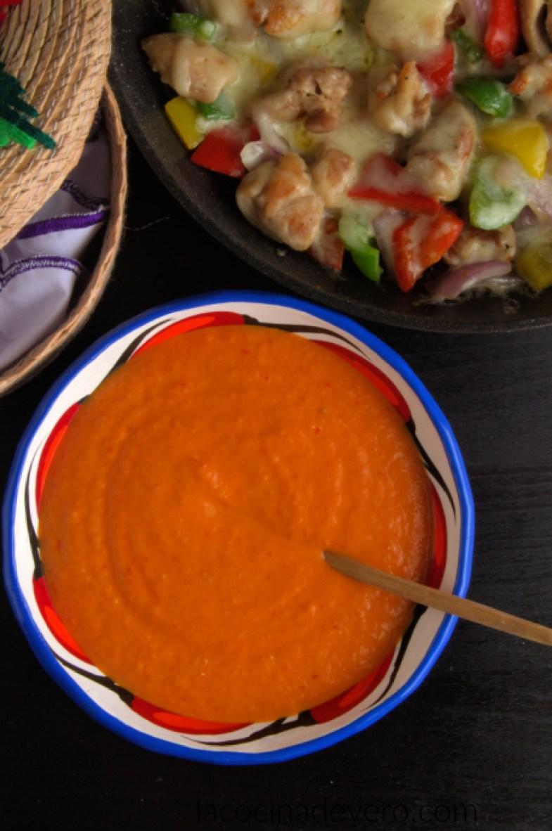 Salsa roja mexicana