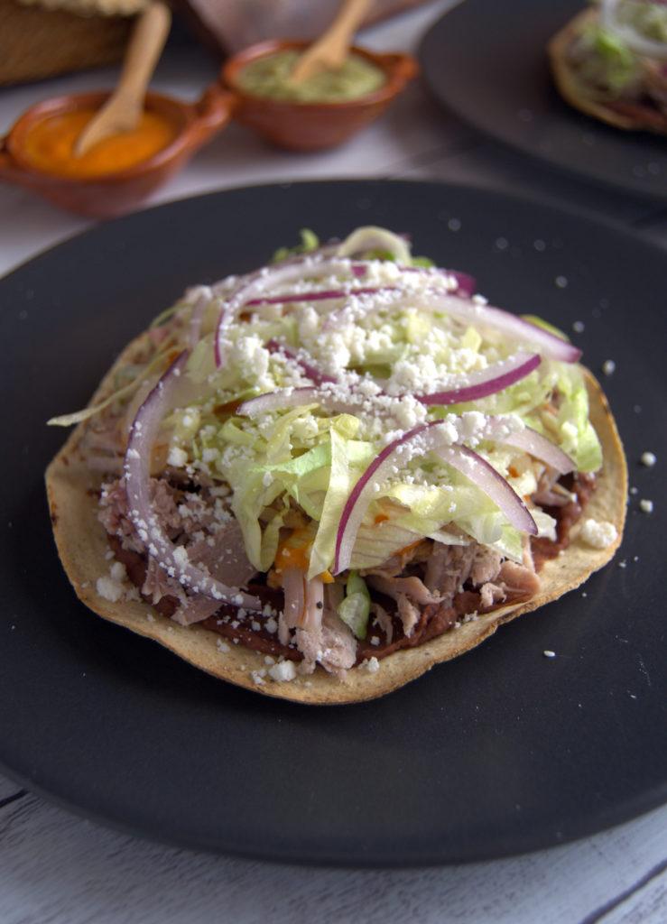 La cocina cotidiana de Vero - Tostada cubano mexicana