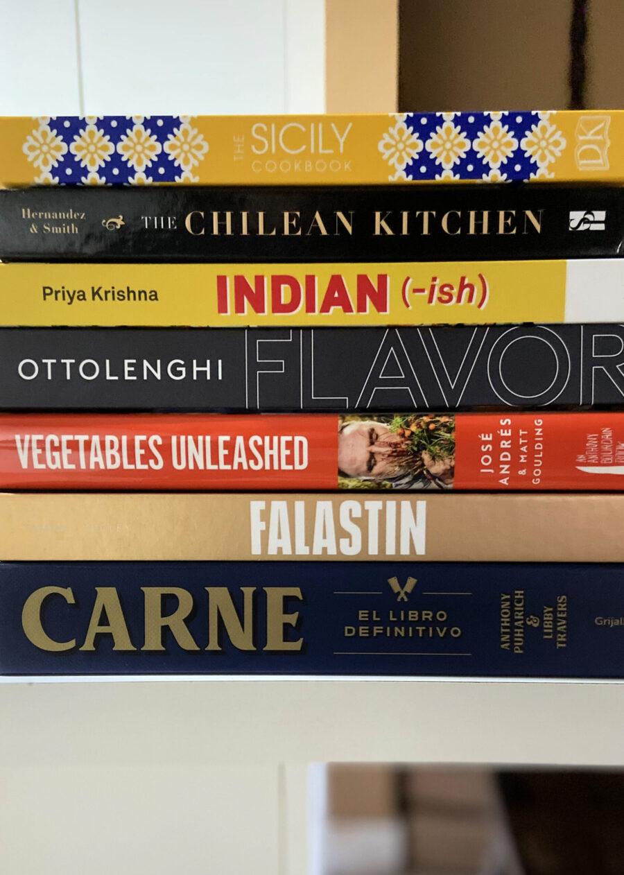Mis 7 libros de cocina preferidos del 2020