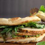 sandwich de la cocina cotidiana de vero