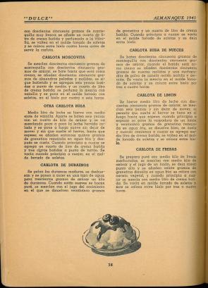 Almanaque Dulce 1943. Unión Nacional de Productores de Azúcar (Mexico). UTSA Libraries Special Collections.