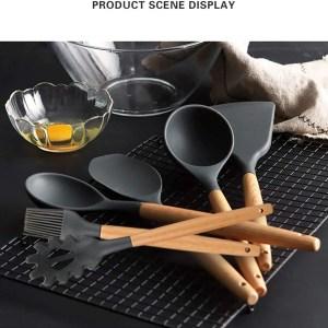 Utensilios de cocina de silicona, escena - La Cocina Latina