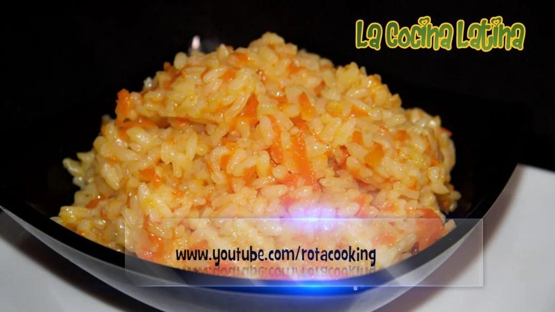 Receta de Arroz con Zanahoria - La Cocina Latina