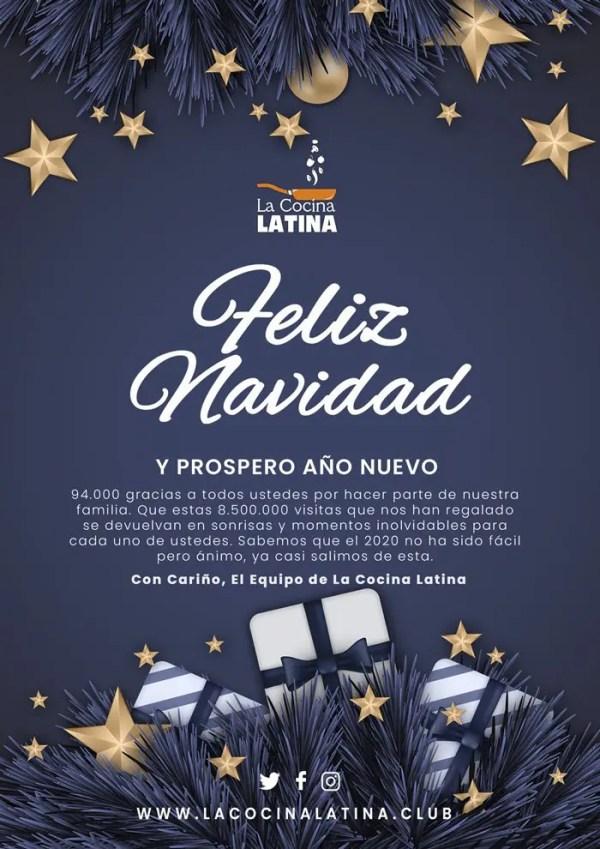 La Cocina Latina os desea Felices Fiestas