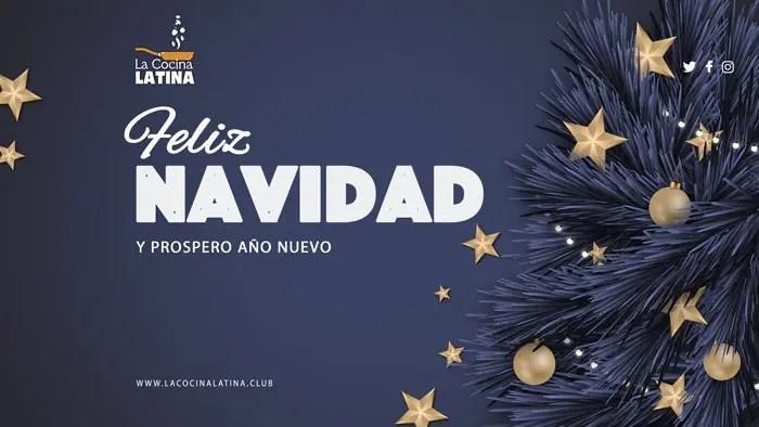 La Cocina Latina te desea Felices Fiestas