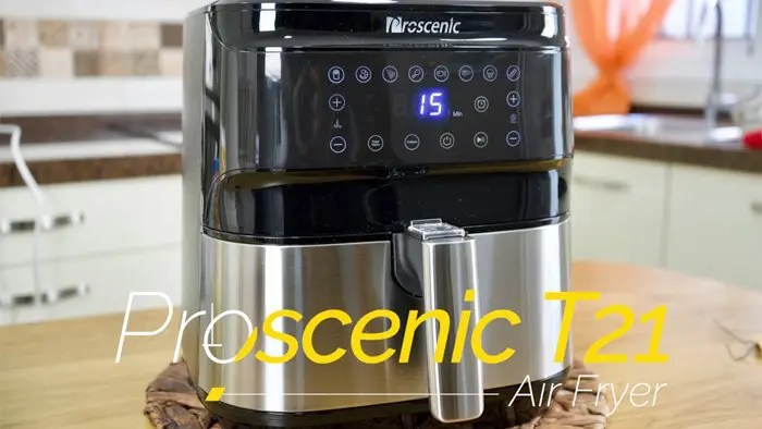Freidora sin aceite Proscenic T21