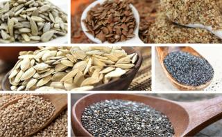semillas-propiedades- La Cocina Ortomolecular