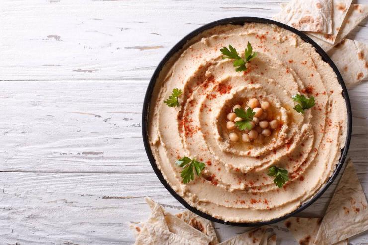 Hummus clásico de garbanzos - La Cocina Ortomolecular