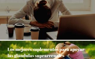 Suplementos para apoyar las glándulas suprarrenales- La Cocina Ortomolecular