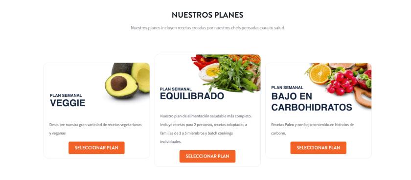Planes Foodinthebox y La Cocina Ortomolecular