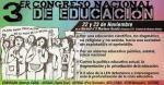 3Congreso nacional de educacion