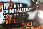 no criminalizacion protesta