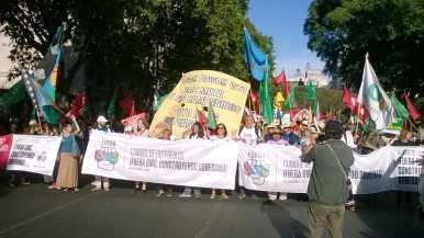 Cabecera Marcha #Fuera OMC