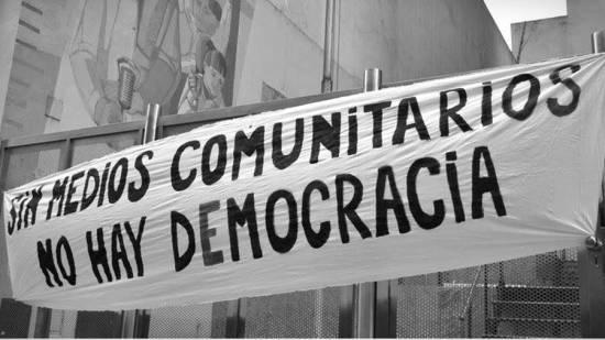 sin medios comunitarios no hay democracia