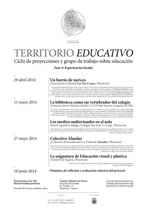Territorio Educativo Fase 3. A3