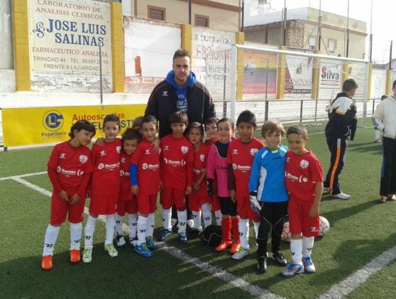 Uno de los equipos del Club Deportivo Juan Cala, de Lebrija | Foto: twitter @escuelajuancala
