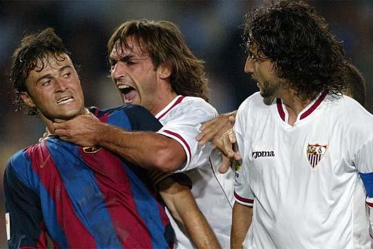 agresion de navarro a Luis Enrique | Imagen: Google Pictures