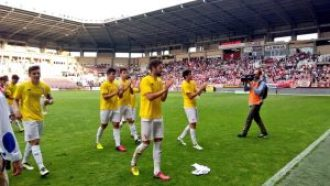Sobresaliente temporada del Sevilla Atlético.   Foto: Sevilla FC