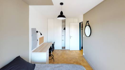 La COLOC ANGEVINE Premium - Chambre 3 02
