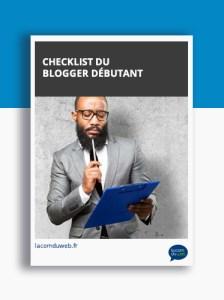checklist du blogger débutant