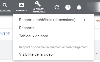 Google Ads - Rapports