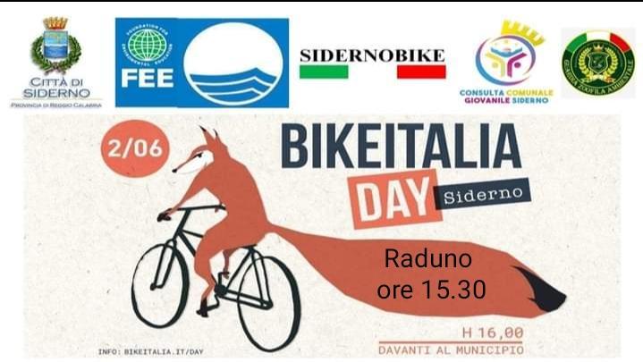 La Consulta Giovanile Comunale di Siderno organizza il Bike Italia Day