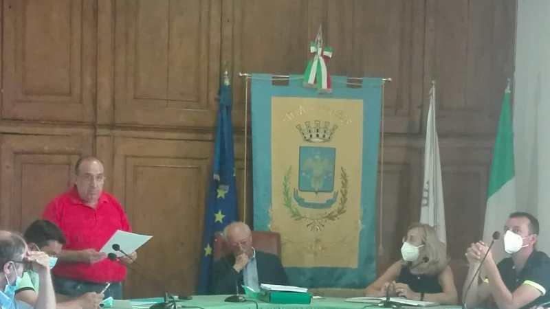 Consiglio Comunale città di Gerace con commemorazione professore Giuseppe Pancallo