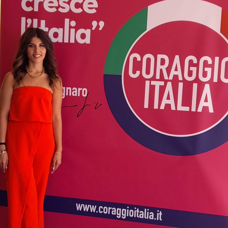 """Cetty Scarcella: """"Credo nella politica concreta di Coraggio Italia"""""""