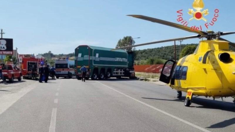 CALABRIA: GRAVE INCIDENTE SULLA SS106