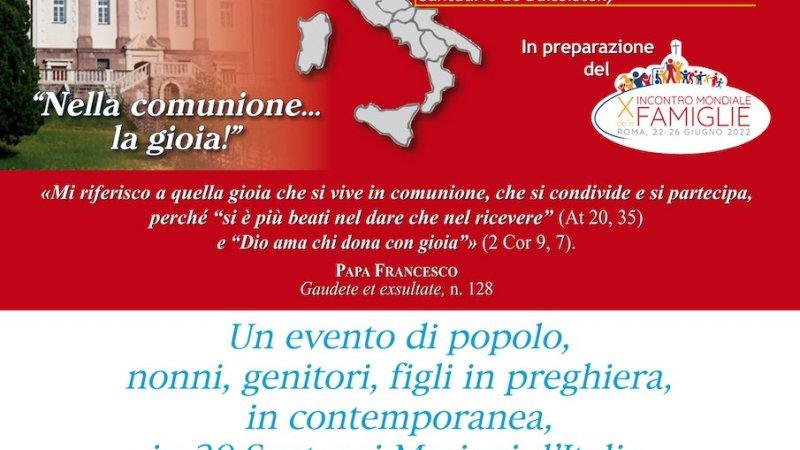 Grande attesa per Pellegrinaggio delle famiglie Sabato 11 settembre 2021 – dalle  15.30 – al  Santuario diocesano Madonna di Dipodi Feroleto Antico – Lamezia Terme (CZ)