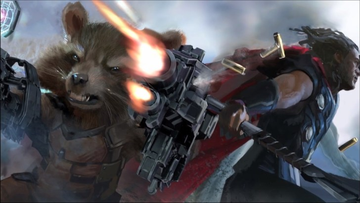 rocket-raccon-thor-avengers-infinity-war-comikeria