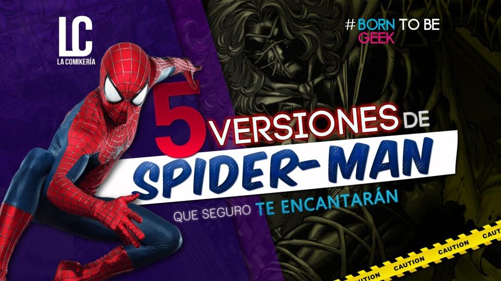 spiderman-versiones-alternas-Comikeria